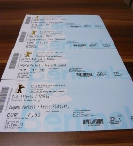Berlinale Tickets 2013