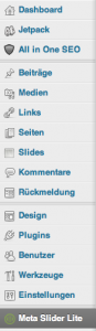 Meta Slider Lite - Seitenleiste